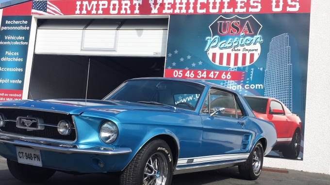 FORD MUSTANG Coup 1967 GTA Clone USA Passion import de