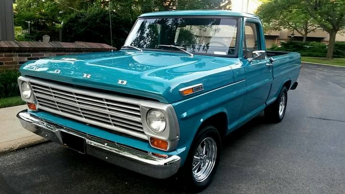 Ford F100 shortbed Pickup 1970