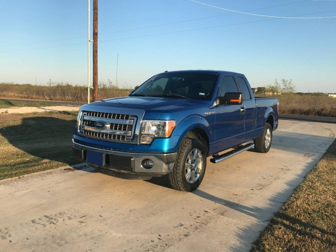 Ford F150 XLT Texas Edition 2013 Flex fuel