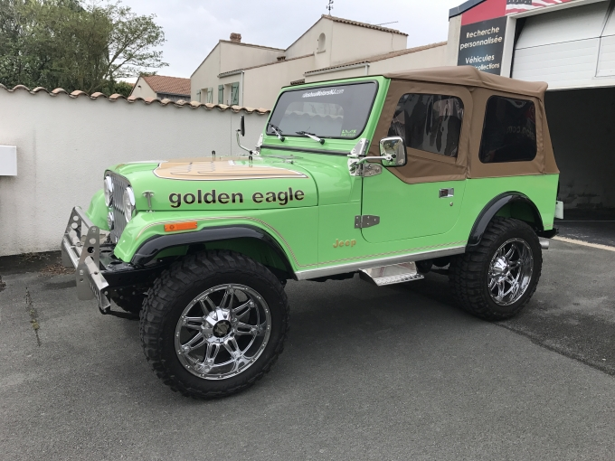 JEEP CJ7 Golden Eagle 1979